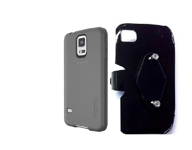 SlipGrip RAM-HOL Holder For Samsung Galaxy S5 i9600 Using Incipio Using NGP Series Case