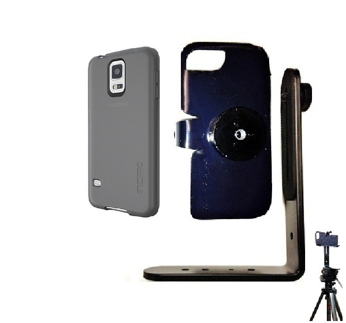 SlipGrip Tripod Mount For Samsung Galaxy S5 i9600 Using Incipio Using NGP Series Case