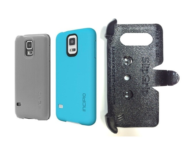 SlipGrip PRO Mounts Holder For Samsung Galaxy S5 i9600 Using Incipio Using Feather Case