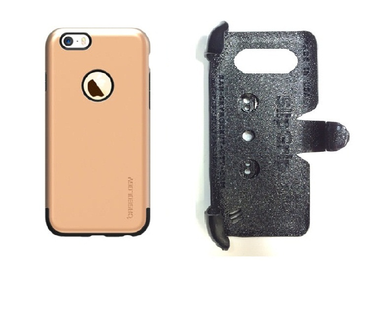 SlipGrip PRO Mounts Holder For Apple iPhone 8 Plus Using ology Dual Layer Premium Armor TPU Case