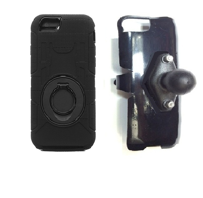 SlipGrip RAM Holder For Apple iPhone 8 Using Commander Case