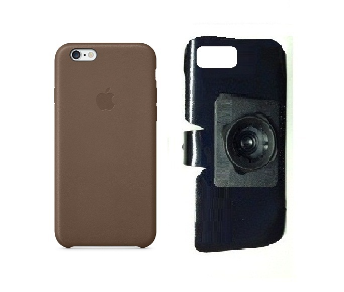 SlipGrip 22mm Ball Holder For Apple iPhone 8 Using Apple Authentic Leather Case