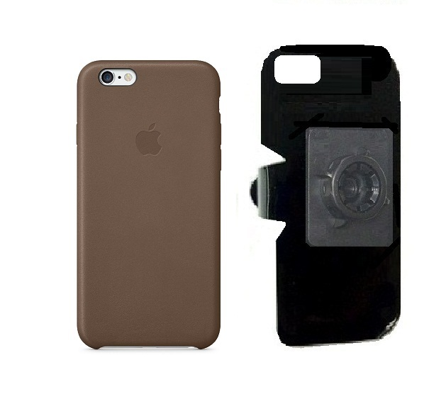SlipGrip 17MM Holder For Apple iPhone 8 Using Apple Authentic Leather Case
