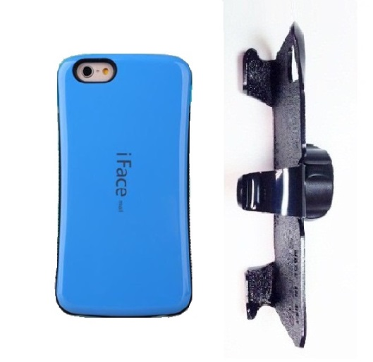 SlipGrip 22mm Ball Holder For Apple iPhone 8 Using iFace Mall Revolution Case