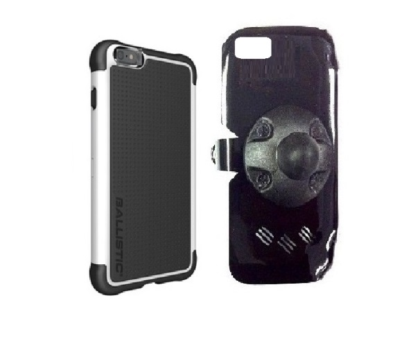 SlipGrip RAM Holder For Apple iPhone 8 Plus Using AGF Ballistic Tough Jacket Case