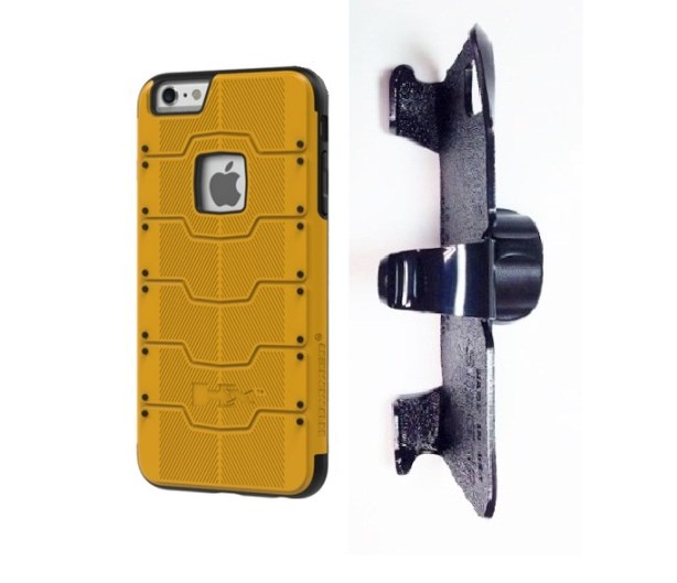 SlipGrip 22mm Ball Holder For Apple iPhone 8 Plus Using Hummer HX Rugged Case