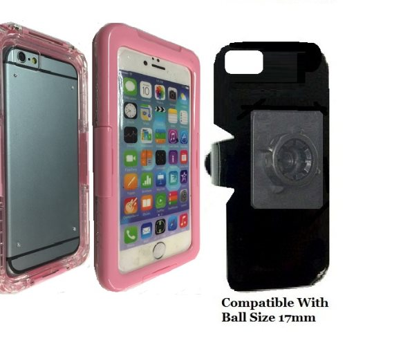 SlipGrip 17MM Holder For Apple iPhone 8 Using WaterProof Shock Proof Case