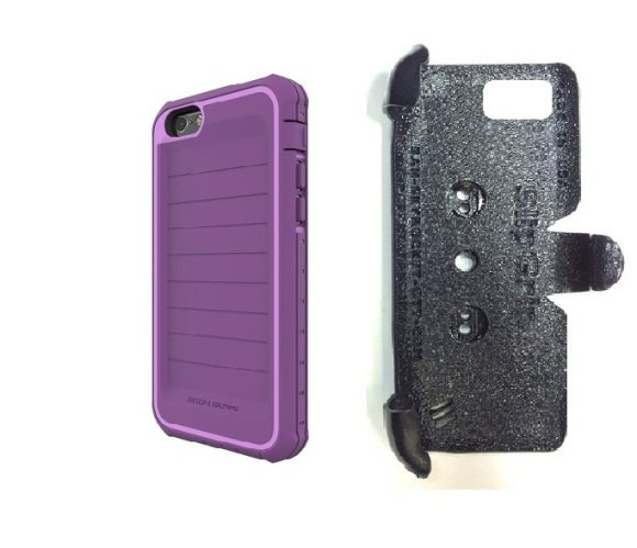 SlipGrip PRO Mounts Holder For Apple iPhone 8 Using Body Glove ShockSuit Case