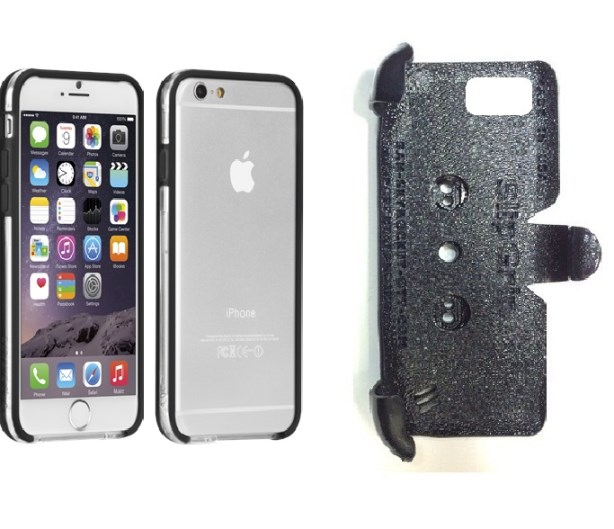 SlipGrip PRO Mounts Holder For Apple iPhone 8 Using Case-Mate Tough Frame Bumper Case