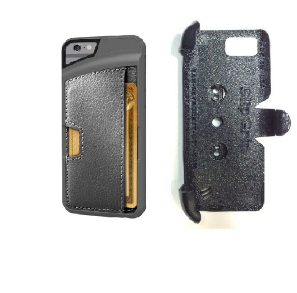 SlipGrip PRO Mounts Holder For Apple iPhone 8 Using CM4 Q Card Wallet Case