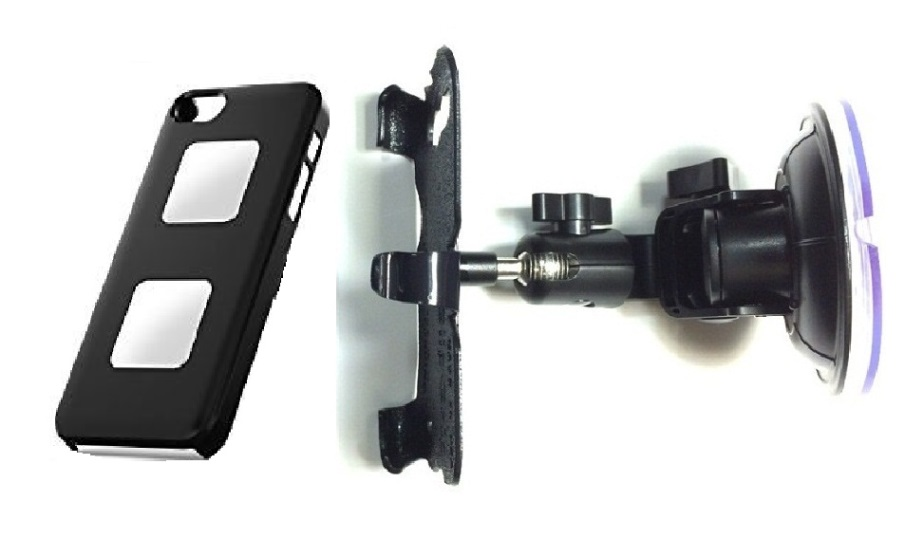 SlipGrip Car Holder For Apple iPhone 5 & 5S Using AliveCor Heart Monitor Case DT