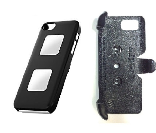 SlipGrip PRO Mounts Holder For Apple iPhone 5 & 5S Using AliveCor Heart Monitor Case