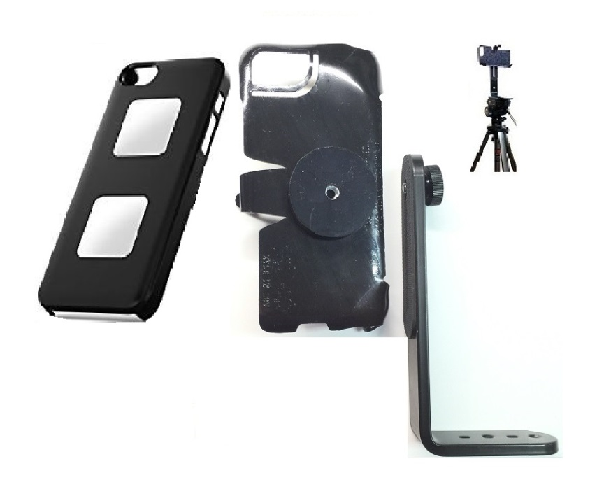 SlipGrip Tripod Mount For Apple iPhone 5 & 5S Using AliveCor Heart Monitor Case