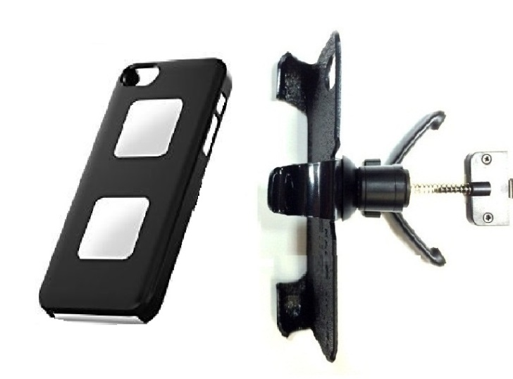 SlipGrip Vent Holder For Apple iPhone 5 & 5S Using AliveCor Heart Monitor Case