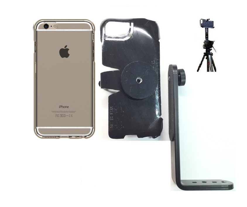 SlipGrip Tripod Mount For Apple iPhone 8 Plus Using Hummer H3 DefendAIR Case