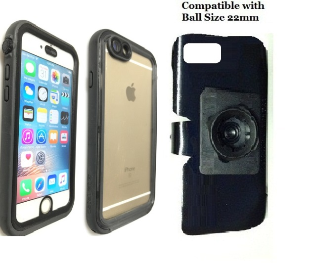 SlipGrip 22mm Ball Holder For Apple iPhone 8 Using Catalyst Waterproof Case
