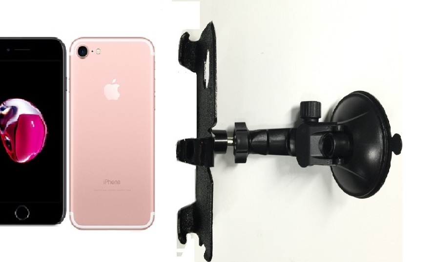 SlipGrip Car Holder For Apple iPhone 8 Naked Using No Case On LP
