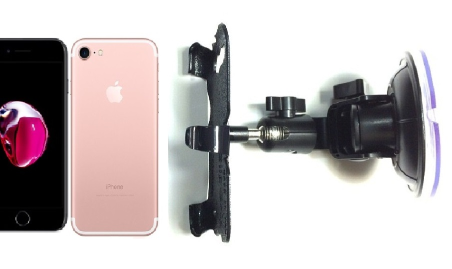 SlipGrip Car Holder For Apple iPhone 8 Naked Using No Case DT