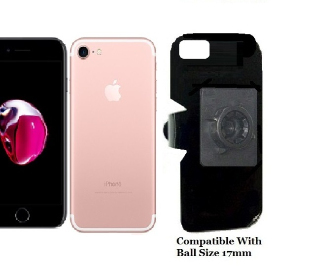 SlipGrip 17MM Holder For Apple iPhone 8 Naked Using No Case On