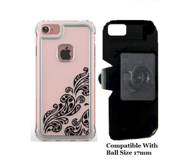 SlipGrip 17MM Holder For Apple iPhone 8 Using Ballistic Jewel Essence Series Case