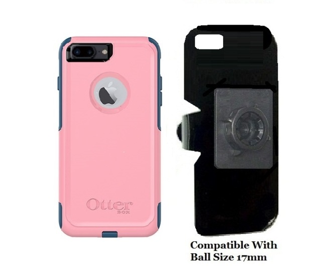 SlipGrip 17MM Holder For Apple iPhone 8 Plus Using OtterBox Commuter Case