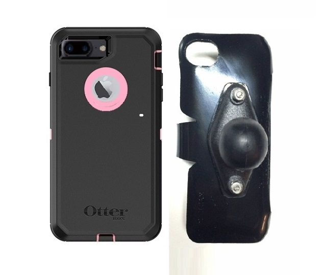 SlipGrip RAM Holder For Apple iPhone 8 Plus Using OtterBox Defender Case