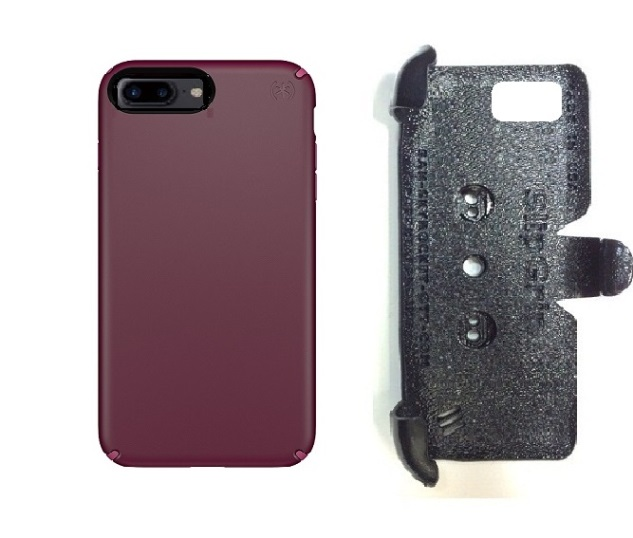 SlipGrip PRO Mounts Holder For Apple iPhone 8 Plus Using Speck Presidio Case
