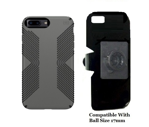 SlipGrip 17MM Holder For Apple iPhone 8 Plus Using Speck Presidio Grip Case