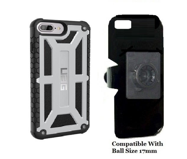 SlipGrip 17MM Holder For Apple iPhone 8 Plus Using UAG Monarch Rugged Case
