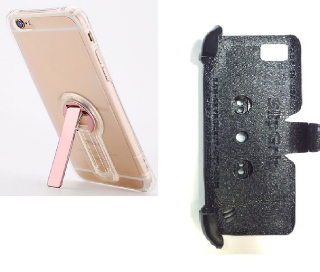 SlipGrip PRO Mounts Holder For Apple iPhone 8 Using Crystal Clear S TPU Gel KS Case