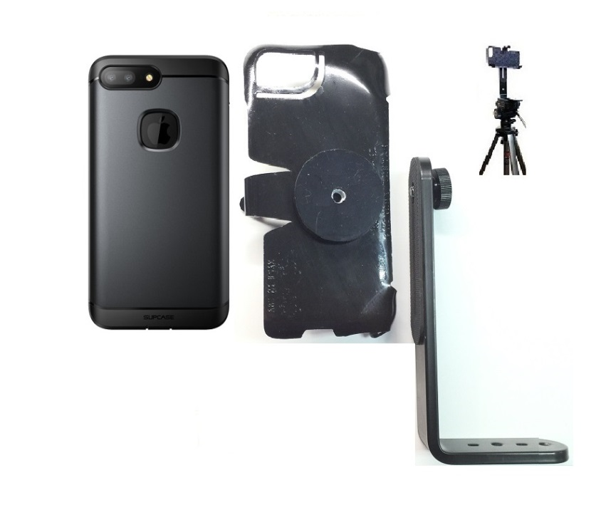 SlipGrip Tripod Mount For Apple iPhone 8 Plus Using  Water Resistant FBP Case