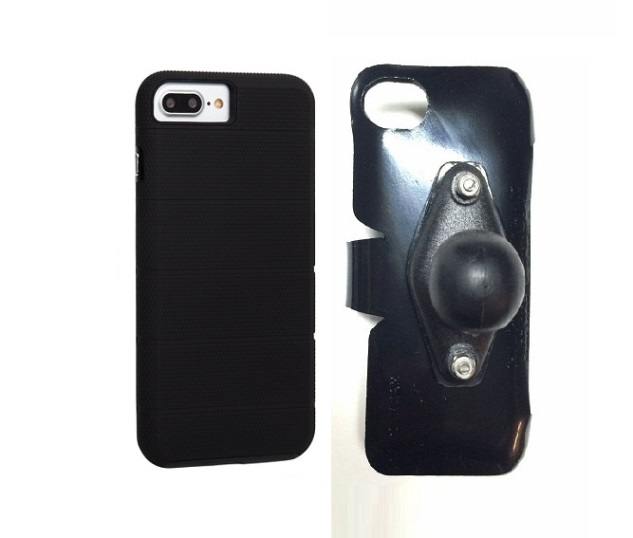 SlipGrip RAM Holder For Apple iPhone 8 Plus Using Case-Mate Tough Mag Case