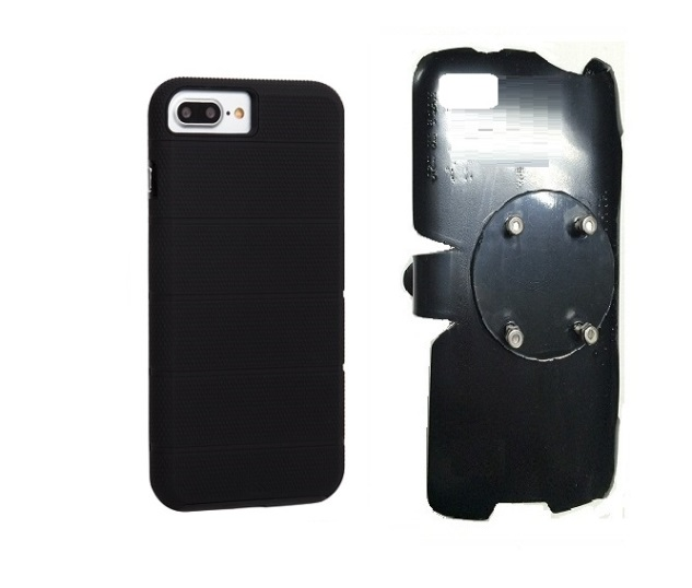 SlipGrip RAM-HOL Holder For Apple iPhone 8 Plus Using Case-Mate Tough Mag Case