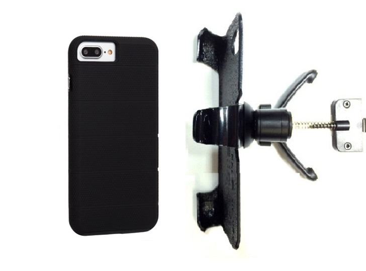SlipGrip Vent Holder For Apple iPhone 8 Plus Using Case-Mate Tough Mag Case