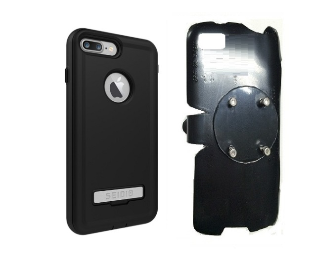 SlipGrip RAM-HOL Holder For Apple iPhone 8 Plus Using Seidio Convert Case