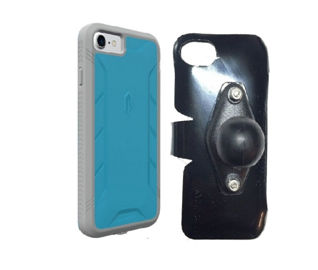SlipGrip RAM Holder For Apple iPhone 8 Using Poetic Rugged ShockProof Case