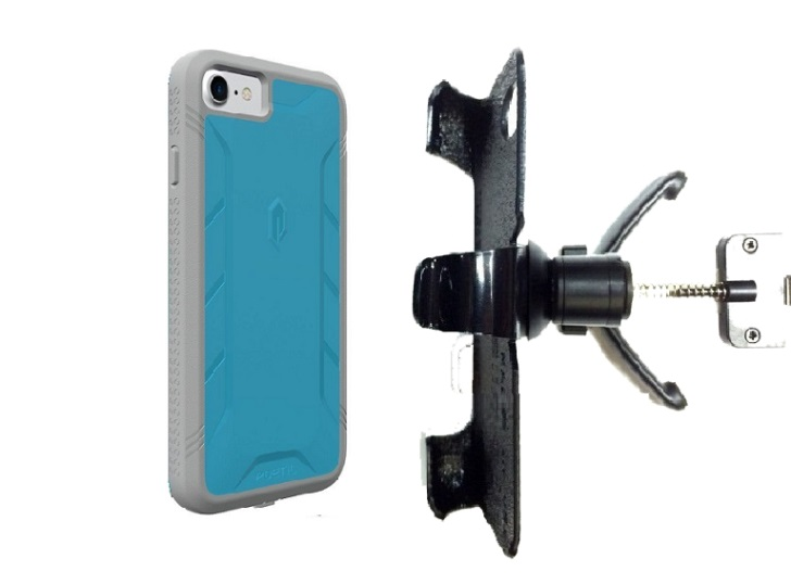 SlipGrip Vent Holder For Apple iPhone 8 Using Poetic Rugged ShockProof Case