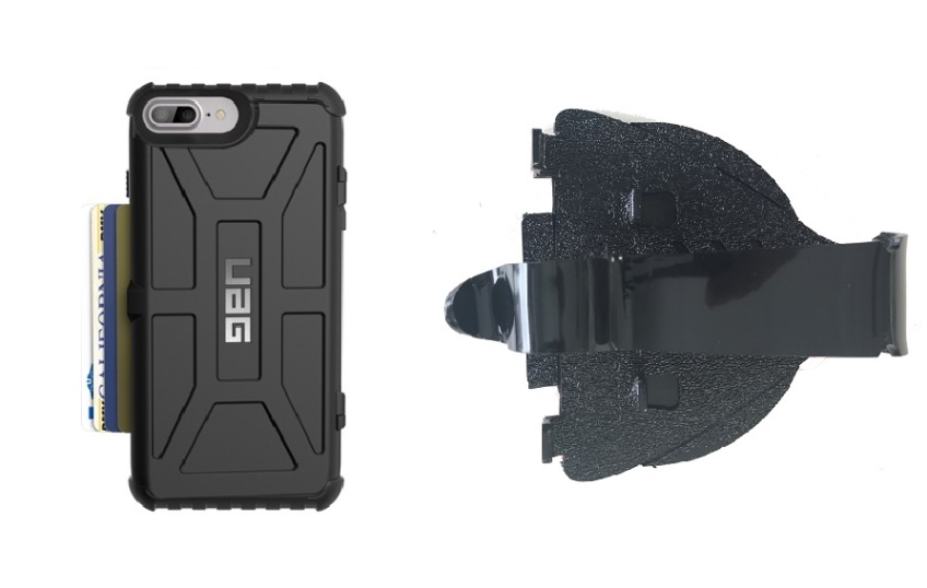 SlipGrip Car Dashboard Holder For Apple iPhone 8 Plus Using UAG Trooper Case