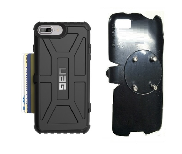 SlipGrip RAM-HOL Holder For Apple iPhone 8 Plus Using UAG Trooper Case