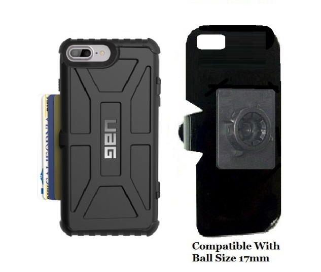 SlipGrip 17MM Holder For Apple iPhone 8 Plus Using UAG Trooper Case