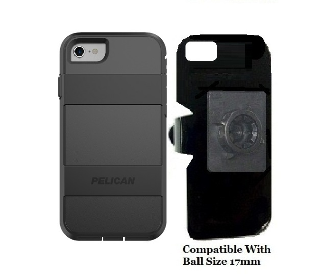 SlipGrip 17MM Holder For Apple iPhone 8 Using Pelican Voyager Case