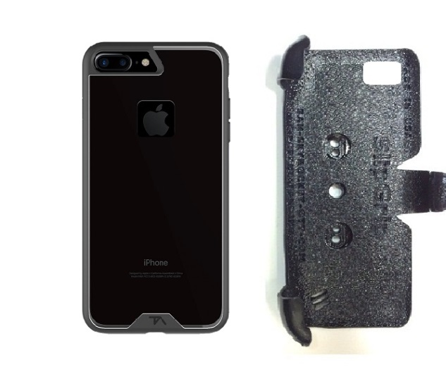 SlipGrip PRO Mounts Holder For Apple iPhone 8 Plus Using Tech Armor FlexProtect Case