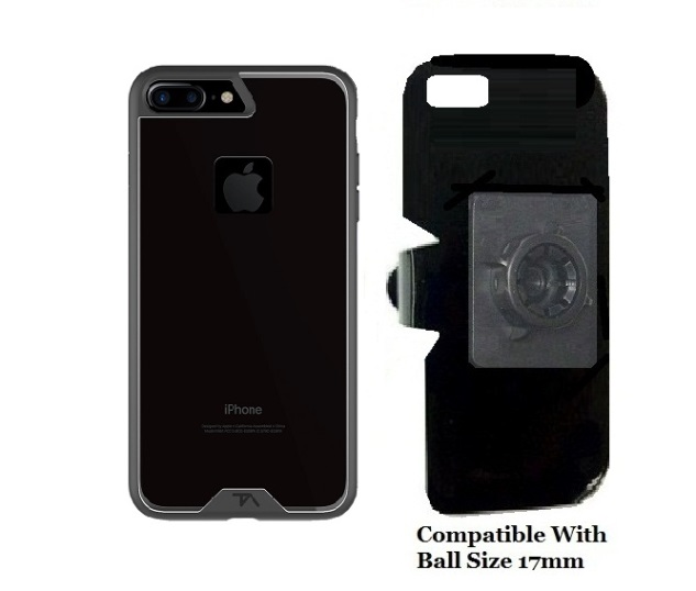 SlipGrip 17MM Holder For Apple iPhone 8 Plus Using Tech Armor FlexProtect Case