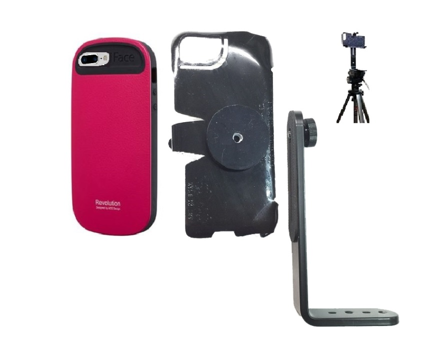 SlipGrip Tripod Mount For Apple iPhone 8 Plus Using iFace Case Impact Case
