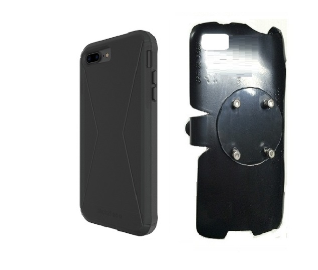 SlipGrip RAM-HOL Holder For Apple iPhone 8 Plus Using Tech21 Evo Tactical Extreme Case