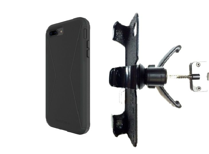 SlipGrip Vent Holder For Apple iPhone 8 Plus Using Tech21 Evo Tactical Extreme Case