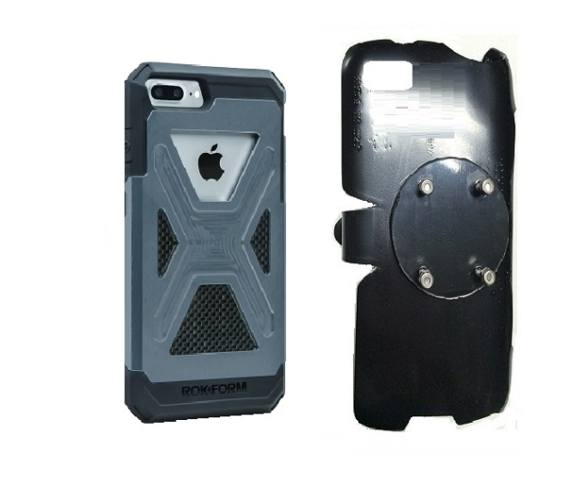 SlipGrip RAM-HOL Holder For Apple iPhone 8 Plus Using Rokform Fuzion Case