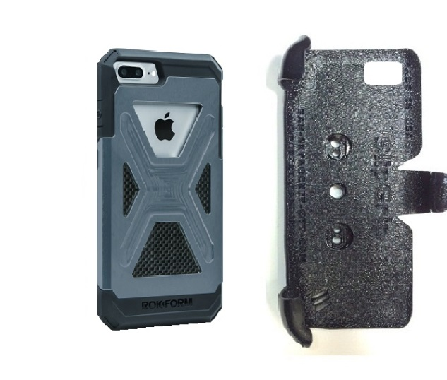 SlipGrip PRO Mounts Holder For Apple iPhone 8 Plus Using Rokform Fuzion Case