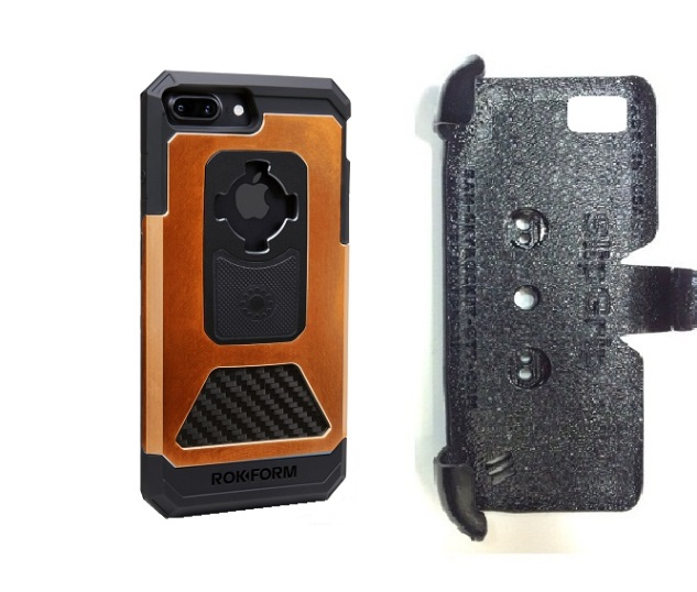 SlipGrip PRO Mounts Holder For Apple iPhone 8 Plus Using Rokform Fuzion Pro Case