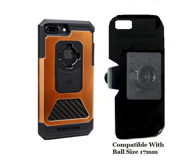 SlipGrip 17MM Holder For Apple iPhone 8 Plus Using Rokform Fuzion Pro Case